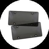 License Plate Shields