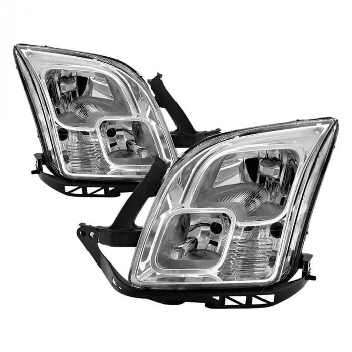 Spyder® - Chrome Factory Style Headlights