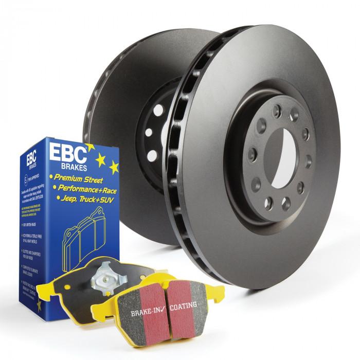 EBC Brakes® - S13 Kits Yellowstuff and RK Rotors