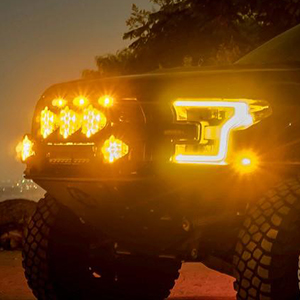 Baja Designs exclusively uses 5000K LEDs to ensure the safest and highest performing driving experience.