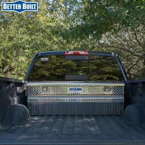 BETTER BUILT® product lineup includes truck tool boxes, truck and utility vehicle accessories, transfer tanks, jobsite storage chests, and piano boxes.