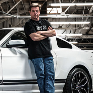 Chip Foose is a legendary designer of hot rods and automotive products, who has been working in the automotive industry since the -70s.