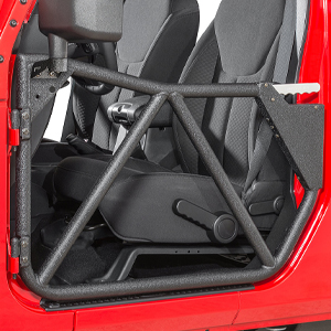 The next generation tube doors from Smittybilt are easy to install and are available for 2/4 DR 07-17 Jeep Wrangler JKs.
