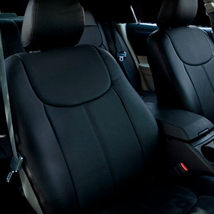 Steelcraft Seatskinz engineered specifically for each seat pattern with memory foam for extra comfort.