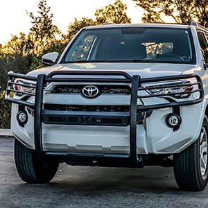 Westin's Sportsman X Grille Guard effectively combines aggressive styling with heavy duty front end protection.